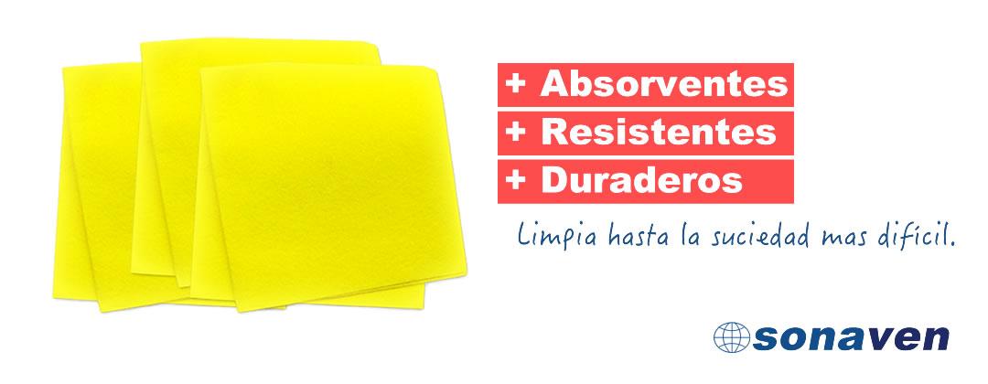 paño amarillo multiuso